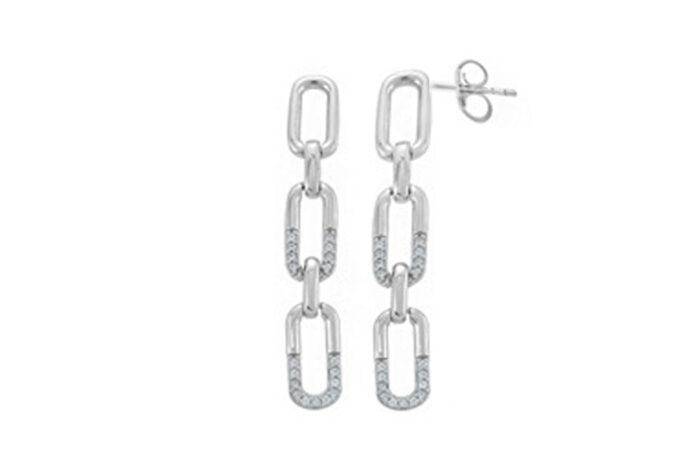 Leposa Earrings silver