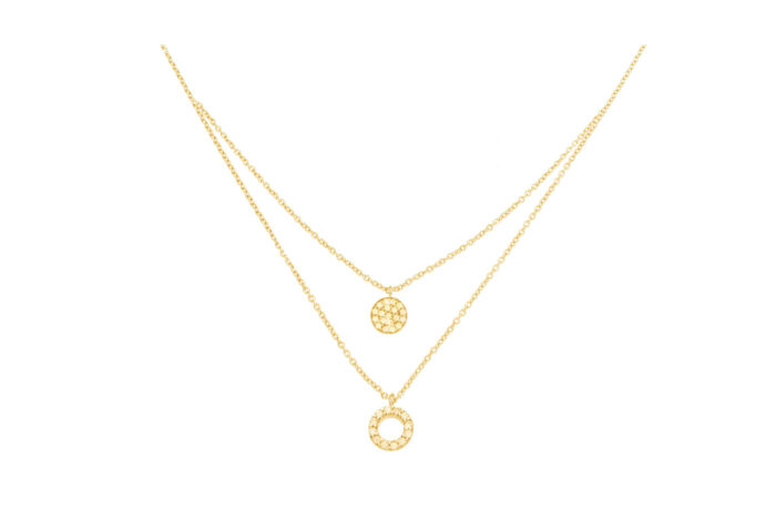 Leposa layered necklace