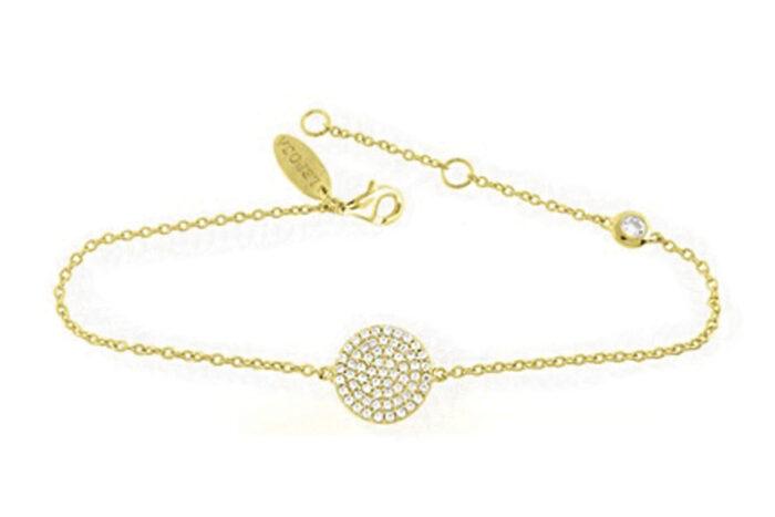 Leposa Armband gelb vergoldet